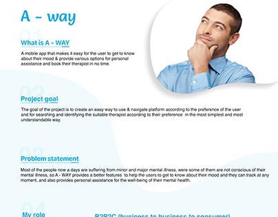 ux case study for mental illness app