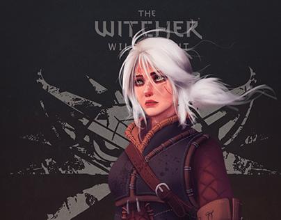 Ciri - The Wicher 3 Fanart