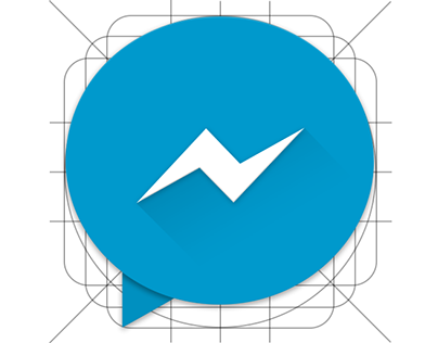 Facebook Messenger Material icon