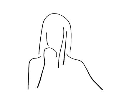 Minimal portrait