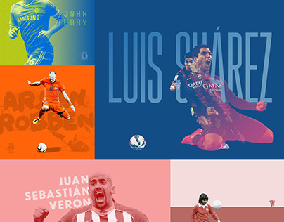100 Day Project - Day 41–60 Footballers X Graphic