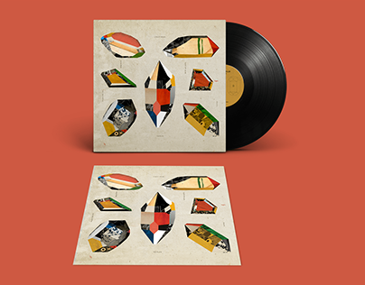 New Ruins / Vinyl Cover