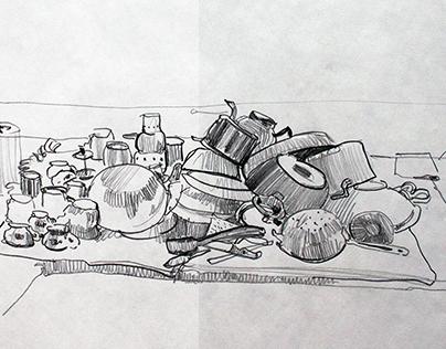 Зарисовки / Sketches