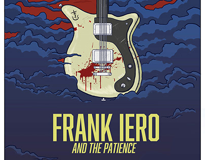 Gig Poster for Frank Iero and the Patience