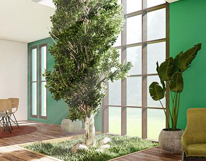 Window View - Nature inside
