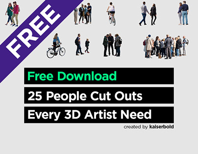 25 FREE Cut Out People