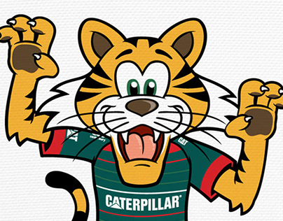 Leicester Tigers Rugby -Welford Mascot Character