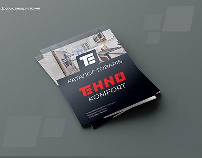 TehnoKomfort, Part 2. Online store - Logo & Identity