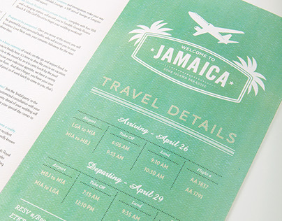 Sandals Personalized Itinerary