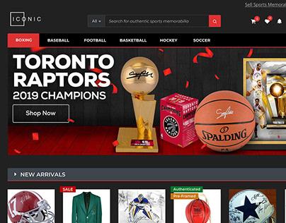 Sports Memorabilia Marketplace & Community