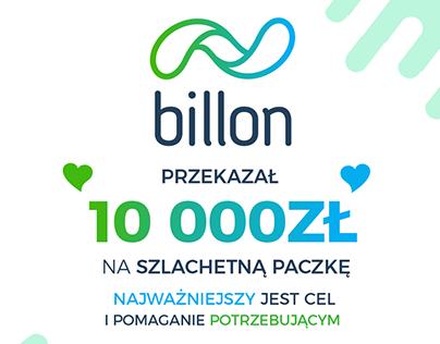 Billon - Charity donation