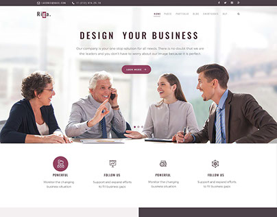 Riga - Business WordPress Theme
