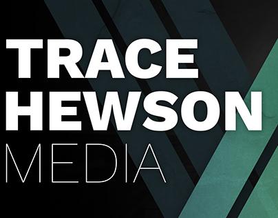 Trace Hewson Media Header Design - Graphic Design