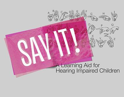 Communication for Social Impact: SayIt!