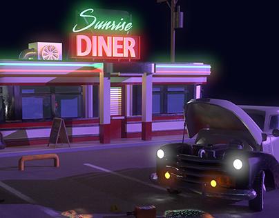 3D Environment: Crime Scene