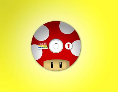 Super Mario Show - DVD Package Design