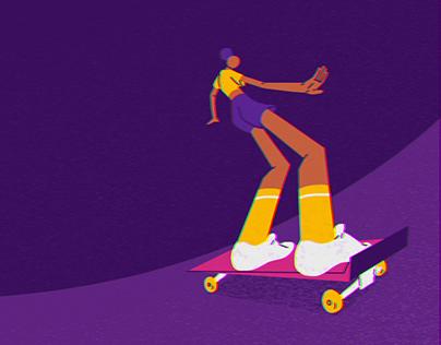 Infinite Skateboarding