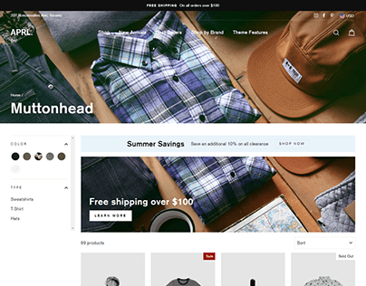 Shopify Store Website