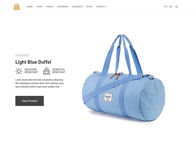 New Range Blue - Seller eCommerce WordPress Theme
