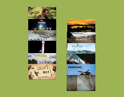 Explora Films. Promotional Images