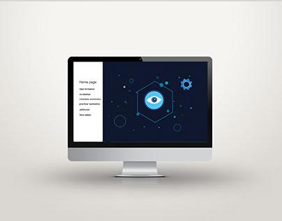 Ideation creative process - illustration