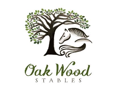Oak Wood Stables Logo
