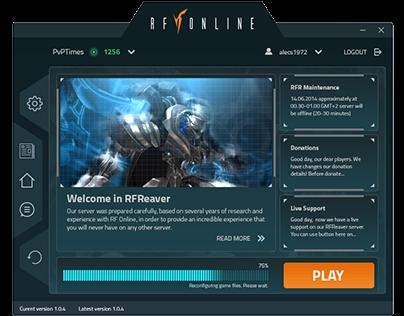 RFOnline game launcher