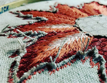 SURFACE EMBROIDERY TECHNIQUES