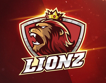 King Lion - Mascot & Esport Logo