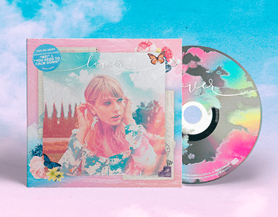 Taylor Swift, 'Lover' - Fanmade Album Cover