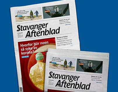 Redesign: Stavanger Aftenblad