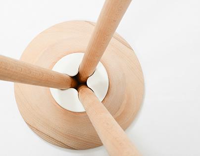 fork stool