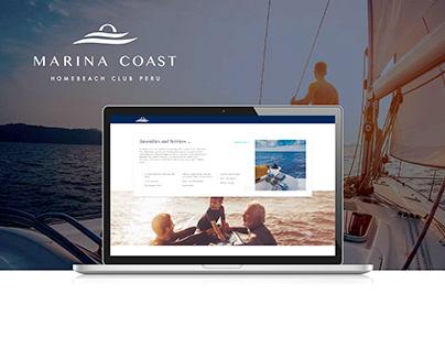 Diseño Web - Marina Coast