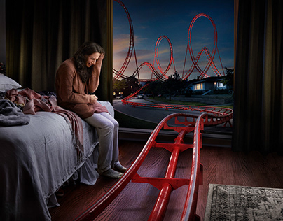 Rollercoaster CGI