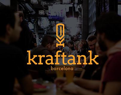 Kraftank Barcelona - Branding