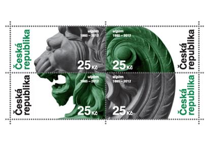 Umělecko-průmyslové muzeum - poštovní známka