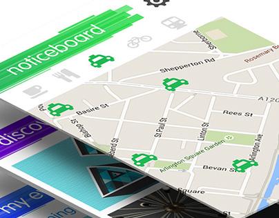 Design Events Mobile App