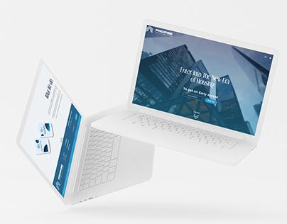 Real Estate Business Website UI/UX