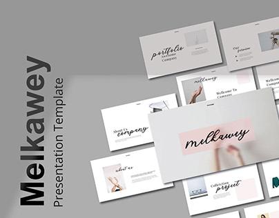 Free Melkawey Presentation Template