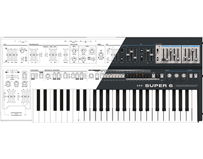 UDO Audio Super 6 Synthesizer