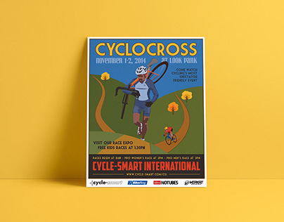 Cyclocross Event Poster