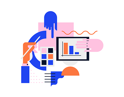 WEB ILLUSTRATIONS / in collaboration with Perspektiv