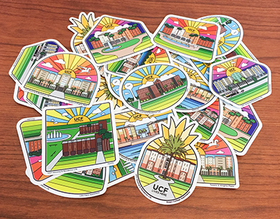 Sticker Series-UCF Housing