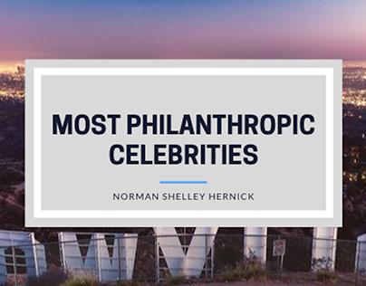 Norman Shelley Hernick on Top Charitable Celebrities