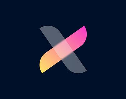 Modern logo Design - X icon Logo Design
