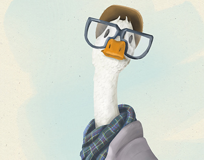 Ducksona (Goose Self-Portrait)