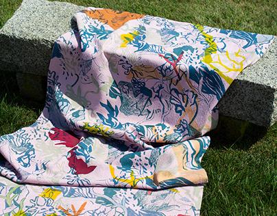 Seaweed Silkscreen Prints
