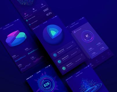 APP UI— data visualization interface