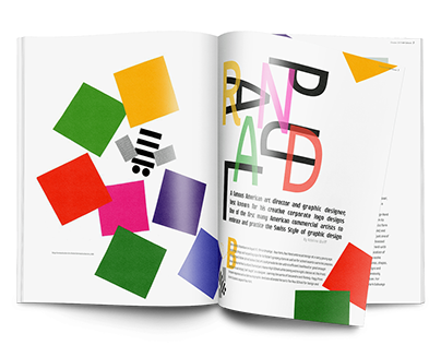 Paul Rand (magazine) 2019