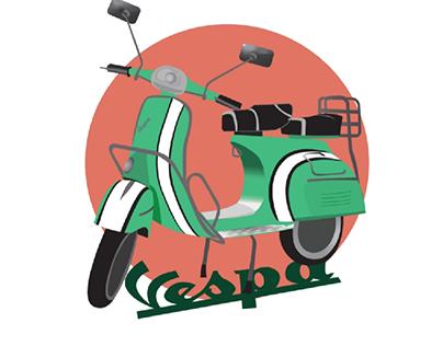 enjoy the ride - vespa